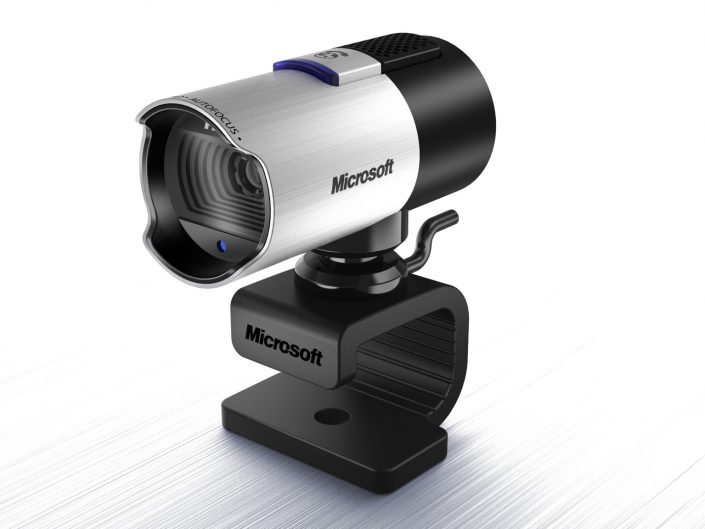 Microsoft hired me for years to shoot their hardware; mice, keyboards, & webcams.  Through the years starting with the film days, we would shoot 4x5 chromes.  Then came the digital cameras, at first very expensive and the quality was just so-so.  (My first digital setup cost me around $30k and it shot a 4 megapixel image.)  Eventually we moved to digital for Microsoft and I worked with a great crew shooting studio product then people and product on location, etc.  At some point 3D rendering finally got close enough to photography and I was hired to learn the software and handle the materials, lighting and rendering side of things.  This is one image from that period.