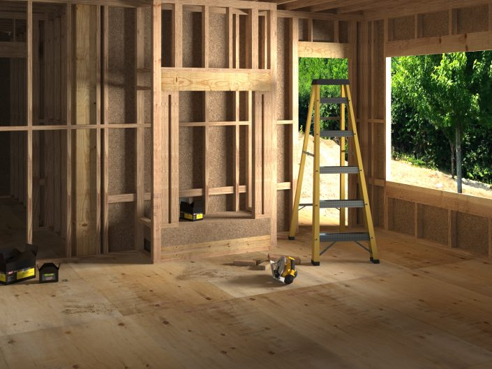 """3dsMax with Vray Render Engine.   I did the materials, composition and Lighting.   This is the """"BEFORE"""" image."""